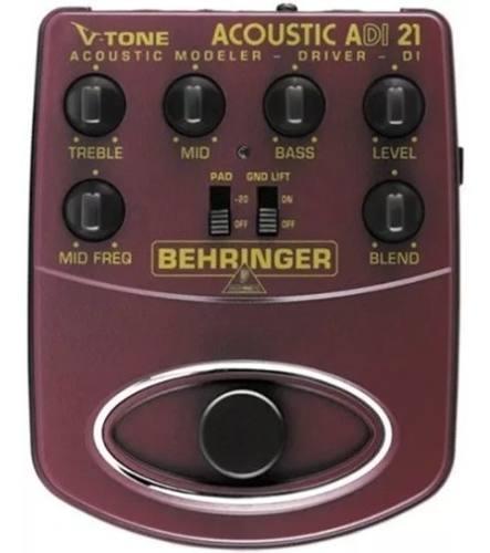 Pedal Behringer V-tone Acoustic Driver Di Adi21