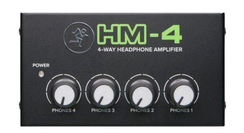 Amplificador De Fones De Ouvido Mackie HM4