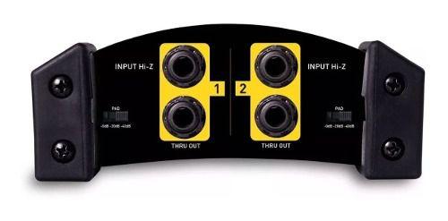 Direct Box Skp Di-2s Passivo Duplo 2 Canais