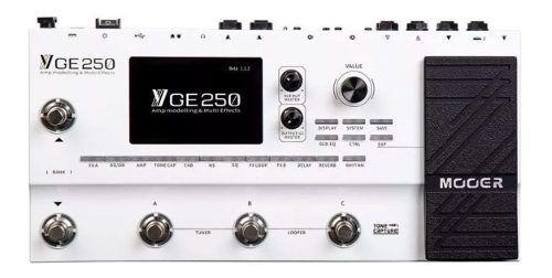 Pedaleira Multi-efeitos Para Guitarra Ge250 Mooer