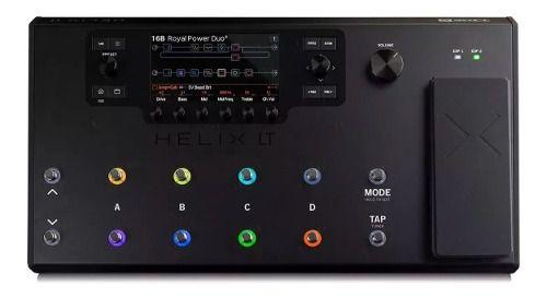 Pedaleira Multi-efeitos Para Guitarra Line 6 Helix Lt