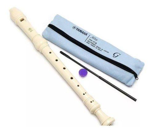 Flauta Contralto Yamaha Alto Germânica Yra-27iii