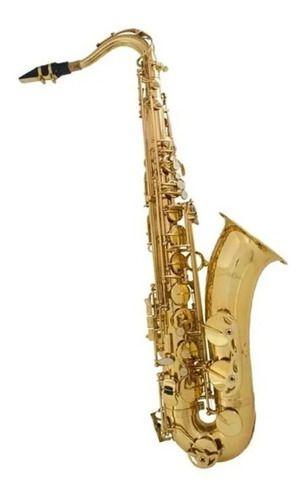 Saxofone Tenor Shelter Sgft6435l Em Bb Laqueado Com Case