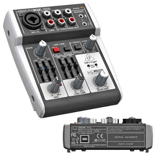 Mesa Behringer Xenyx 302usb Mixer Bivolt
