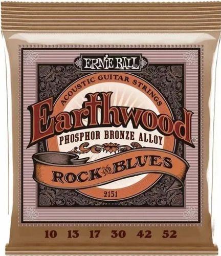 Encordoamento Violão Ernie Ball Phosphor Bronze 010 Blues 2151