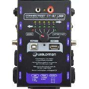 Testador de Cabos - 8 em 1 - Waldman CONNECTEST CT - 8.1 USB