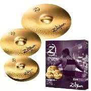 Kit De Pratos Zildjian Planet Z Plz4pk 14 14 16 20