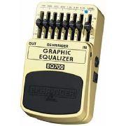 Pedal Equalizador Para Guitarra Behringer Eq 700
