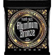 Encordoamento Ernie Ball Violão Aço Aluminum Bronze 011