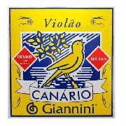Encordoamento Giannini Canario Violão Nylon Com Bolinha Genwb