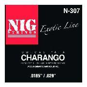 Cordas Para Charango Boliviano Nig Nylon Preto - N307