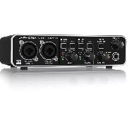 Interface De Audio Umc 202hd  Usb Behringer U-phoria Pré Midas
