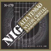Encordoamento Nig Violão Nylon Tensão Alta N470 com Bolinha