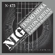 Cordas Nylon Nig Tensão Média C/bolinha Violão Clássico N475