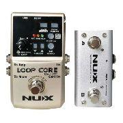 Pedal Nux Loop Core Deluxe com Pedal Controlador