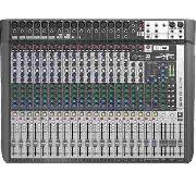 Mesa De Som Soundcraft 22 Canais Signature 22mtk Multipista