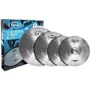 Set de Pratos de Bateria Sahab Hero 14 16 20 com Bag