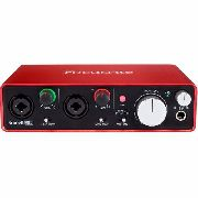 Focusrite Scarlett 2i2 Interface De Áudio Usb 24-bit 3 Gnd