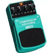 Pedal Compressor Sustain para Guitarra Baixo Violão CS400 - Behringer