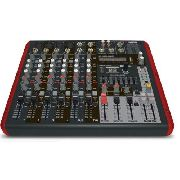 Mesa Som Amplificada 8 Canais 600w Bluetooth Nvk800p Novik
