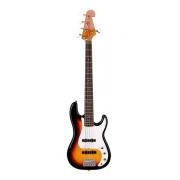 Baixo Sx 5 Cordas Precision Bass Spb62+5 3TS Sunburst Com Bag