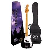 Contrabaixo 4c Sx Spb57 Preto Precision Bass Com Bag