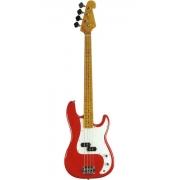 Contrabaixo 4c Sx Spb57 Vermelho Precision Bass Com Bag