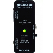 Direct Box Guitarra Baixo Mooer Mdi1 Micro Di Direct Box