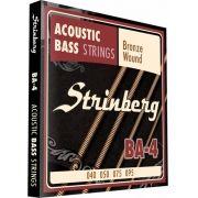 Encordoamento Baixo Acústico Baixolão 4 Cordas Strinberg
