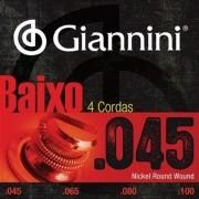 Encordoamento Contrabaixo 4 Cordas Giannini .045 - Geebrs