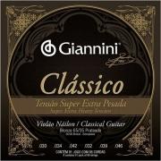 Encordoamento Giannini Violão Clássico Super Extra Pesada