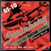 Encordoamento Guitarra Strinberg 010 Gs10