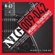 Encordoamento Para Guitarra Eletrica Nig 09 042 N63