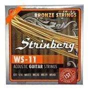 Encordoamento Violão Aço Light Bronze 0.11 Strinberg