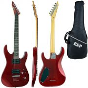 Guitarra Esp Ltd M10 Lm10k VermelhaCom Bag