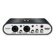 Interface De Audio Icon Duo44live 2 Canais Usb/midi