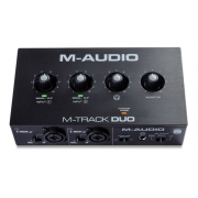 Interface De Áudio M-audio M-track Duo 2x2 Usb 2 Canais