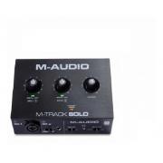 Interface De Áudio M-audio M-track Solo Usb 2 Canais