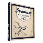 Jogo De Cordas Para Violino Vs4 Strinberg 4/4