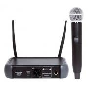 Lexsen LM-58U Microfone UHF 1 canal Frequência Fixa