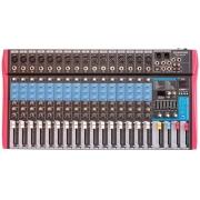 Mesa De Som 16 Canais Soundvoice Ms162eux Efeito/usb/equalizador