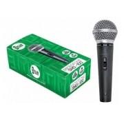 Microfone Dinâmico Dylan Smd-100 com Cabo