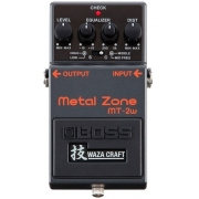 Pedal Boss Mt-2w Metal Zone Waza Craft Made In Japan