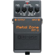 Pedal Boss para Guitarra MT-2 Metal Zone