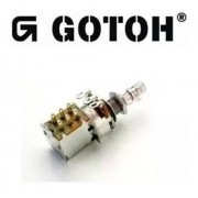 Potenciômetro Gotoh Push-pull Linear P16w-18 500k/b