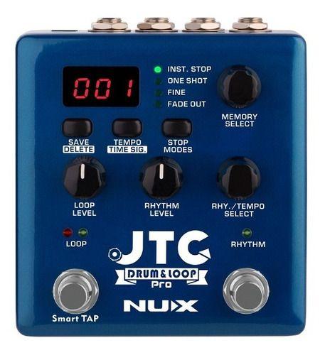 Pedal De Efeito Nux - Pro Jtc Drum & Loop - Drum Machine
