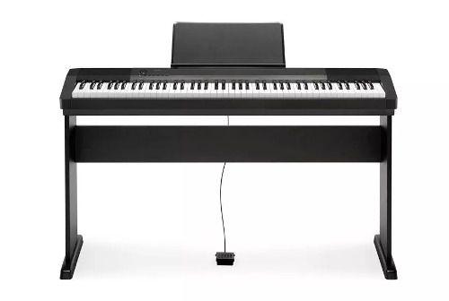 Piano Casio Cdp135 com Suporte Preto