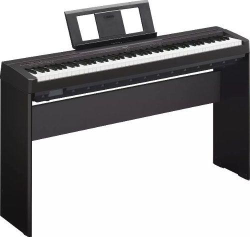 Piano Yamaha P45 + Suporte L85 + Banco E Fonte