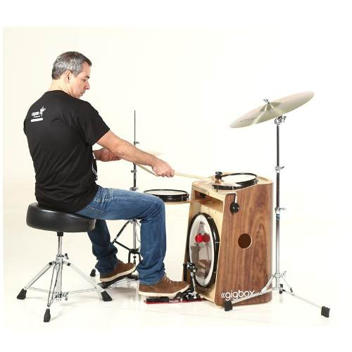 Gigbox Tajon Caixa 10 Tom 10 Bumbo 16 Cajon Percursion
