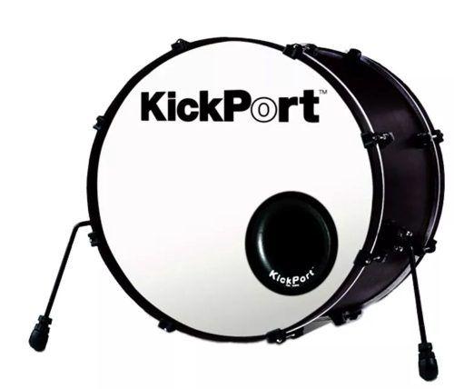 Kickport Potencializador De Bumbo E Molde Kp1 Preto